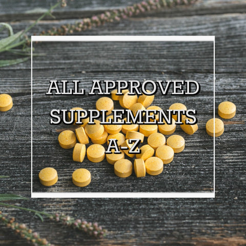No Fail Physique Transformation Approved Supplements A-Z