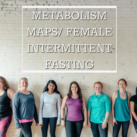 No Fail Female Intermittent Fasting and Metabolism Maps Supplement Guide