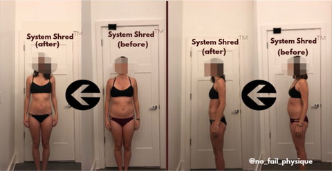 SystemShred No Fail Physique Transformation for Women
