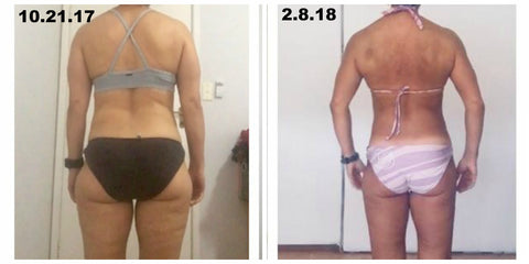 No Fail Physique Transformation Before and After