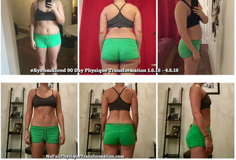 No Fail Physique Transformation Female Fat Loss & Lean Muscle Gain -SystemShred