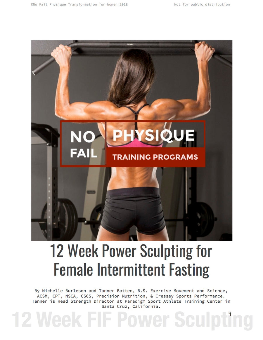 Strength Training for Intermittent Fasting or Keto Diets for Women