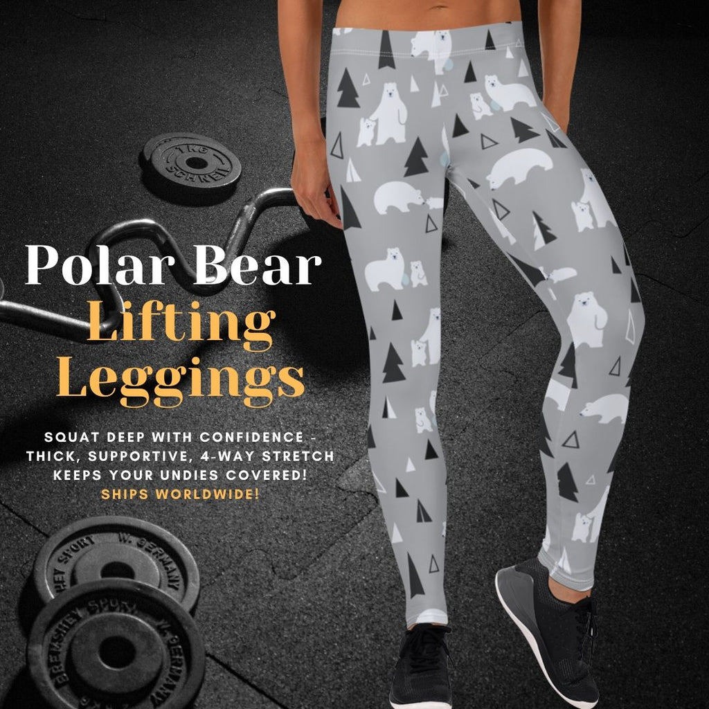 Polar Bear Pals Women's No Fail Lifting Leggings
