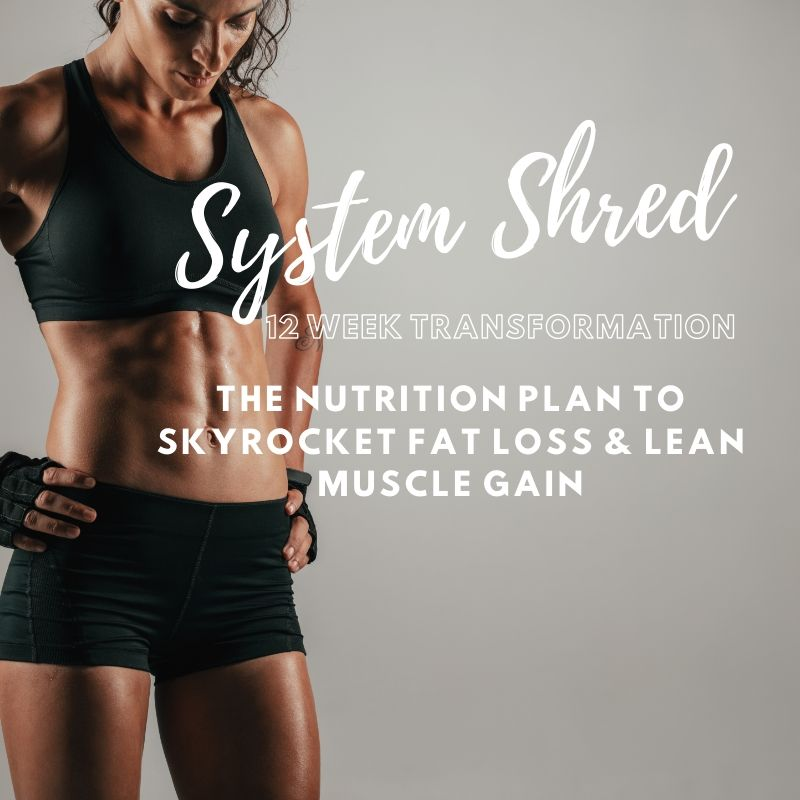 "Custom-Tailored SystemShred™ Fat Loss Protocol for Women ""⭐️⭐️⭐️⭐️⭐️"""
