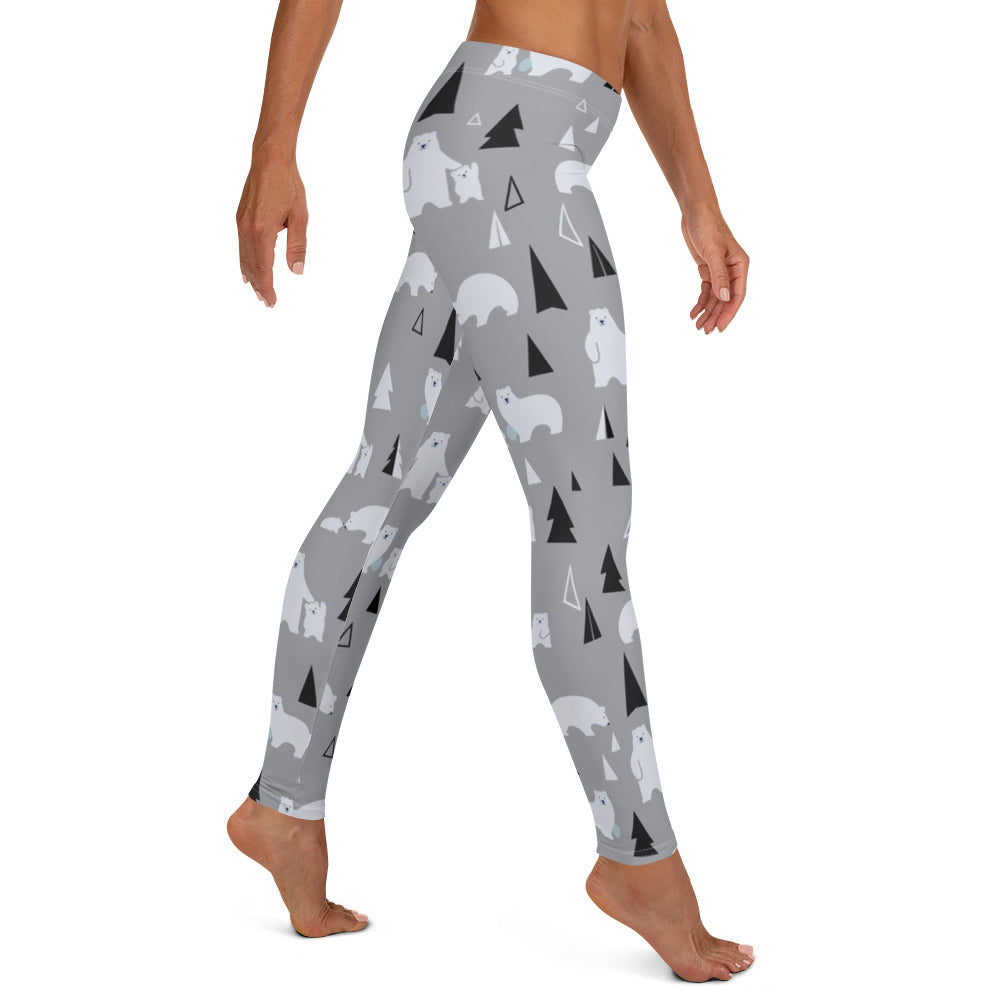 Polar Bear Pals Women's Lifting Leggings