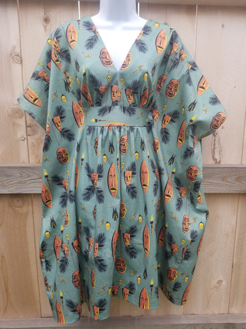 Jungle Voodoo Mini Caftan