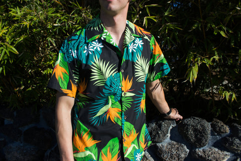 Men's Cabana Set - BIRD OF PARADISE