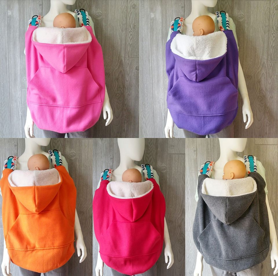 Solid Color Babywearing Cover - Crunchy Love Co.