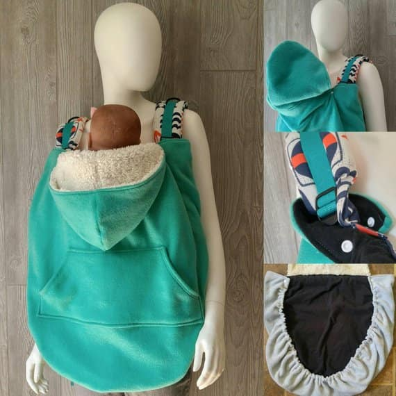 Solid Color Babywearing Cover
