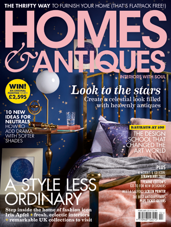Homes & Antiques magazine Feb 19