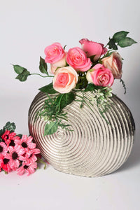 Phyllo - Botanicals Vase - Spiral Small | Beautiful elegant vase for artificial flowers