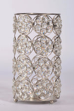Areli - Glass Crystal Column Candle Holder Simply Roka