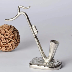Sammy - Modern Sculpture - Musical Note Saxophone Ornament Simply Roka