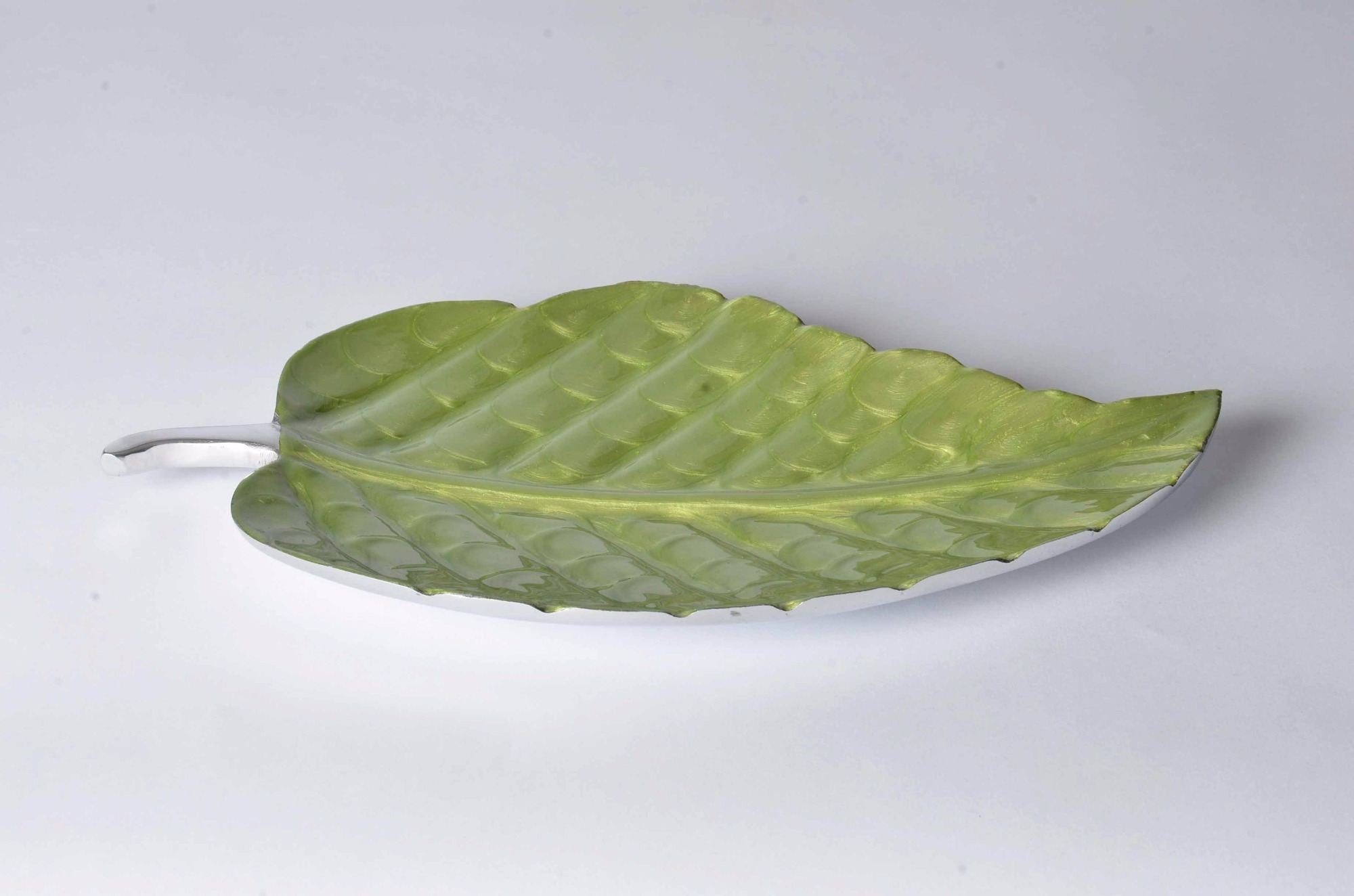 Cascais - Botanics Enamelled Decorative Platter - Leaf Simply Roka