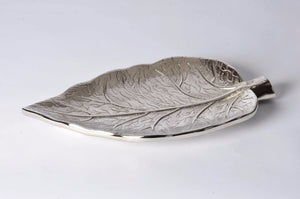 Capers - Botanics Platter - Embossed Leaf. Home decor, elegant handmade gift, present, decoration stuff