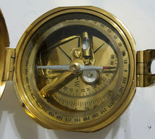 Geological Vintage Antique Look Brunton Compass - Solid Brass - Simply Roka