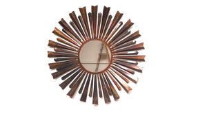 Mirall - Metal Round Industrial Wall Mirror - Simply Roka