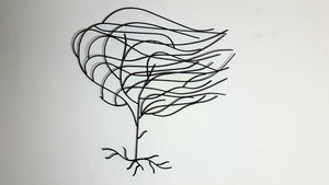 Willow - Metal Tree Wall Art - Simply Roka