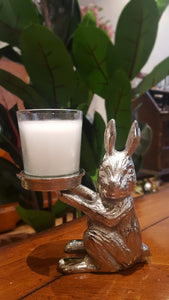 Kanin - Rabbit Bunny Single Candle Holder - Simply Roka