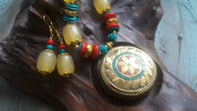 Colourful Necklace and Earrings Set - #J808 - Simply Roka