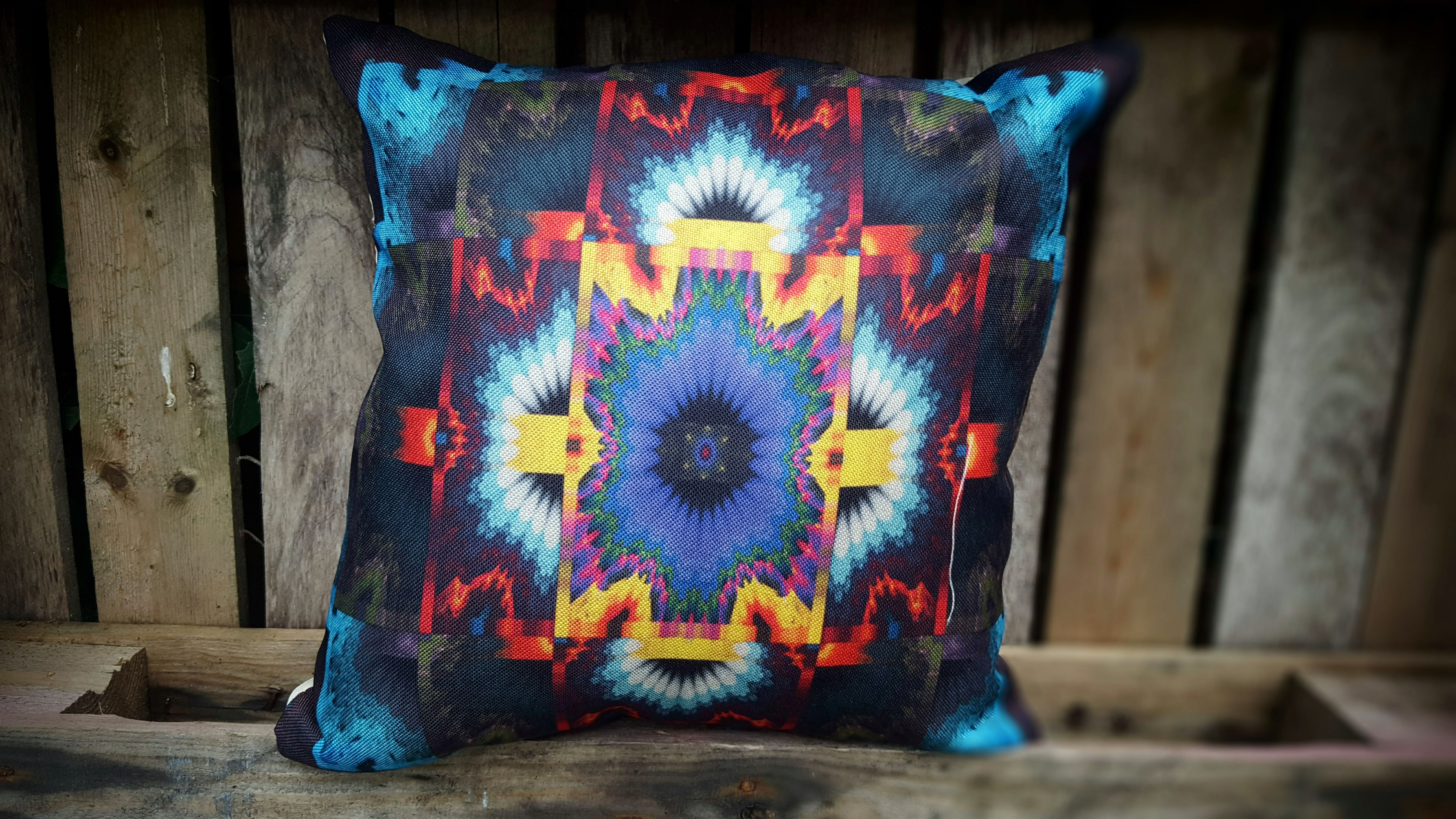 Cushion Cover - Kaleidoscope Simply Roka