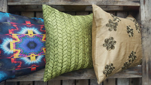 Cushion Cover - Green - Simply Roka