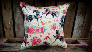 Cushion Cover - Horses Simply Roka