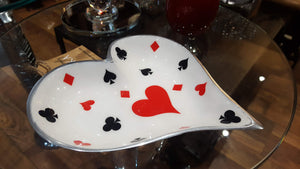 Deck of Cards - Heart Platter - Simply Roka