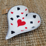 Deck of Cards - Heart Platter Simply Roka