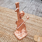 Cello Playing Musician Ornament Simply Roka