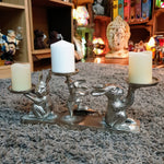 Kanin - Rabbit Bunny Multi Candle Holder Simply Roka