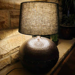 Matki - Large Metal Ball Table Lamp Base Simply Roka