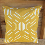 Cushion Cover - Retro Yellow Simply Roka