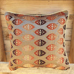 Cushion Cover - Orange Copper Simply Roka