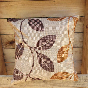 Cushion Cover - Retro Brown Simply Roka