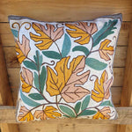 Cushion Cover - Kashmiri Embroidery D1 Simply Roka