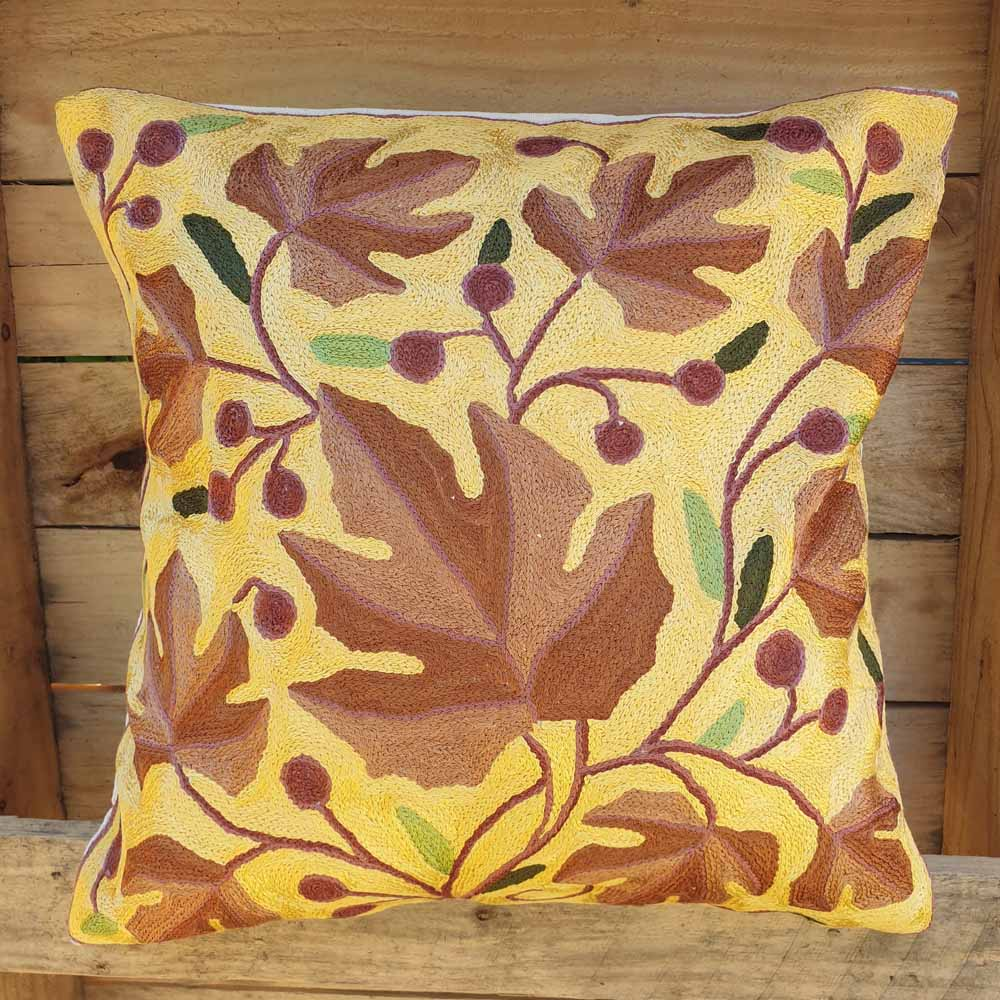 Cushion Cover - Kashmiri Embroidery D3 Simply Roka