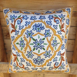 Cushion Cover - Kashmiri Embroidery D4 Simply Roka