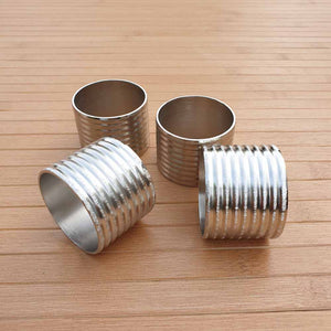 Striped Cylinder Napkin Rings (Set of 4) Simply Roka