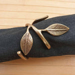 Leaf Napkin Rings (Set of 4) - Simply Roka