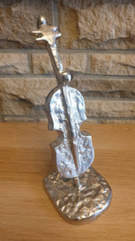 Reginald - Modern Sculpture - Musical Note Violin / Cello Ornament