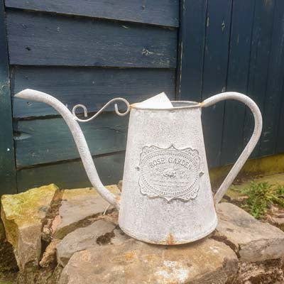 Vintage Style Metal Watering Can - Simply Roka