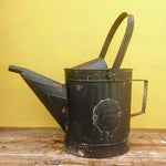 Distressed Metal Watering Can - Black - Simply Roka