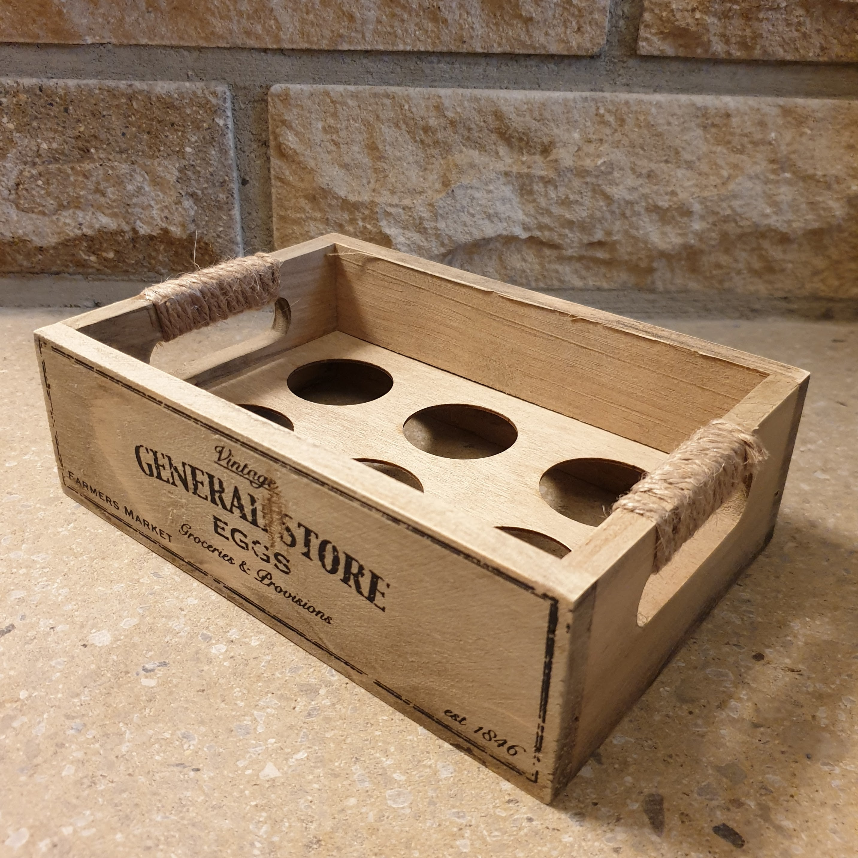 Wooden Egg Crate - Simply Roka