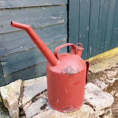 Industrial Oil Can Style Metal Watering Can - Simply Roka