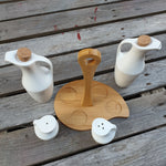 Ceramic Condiment Set - 4 piece set - Simply Roka
