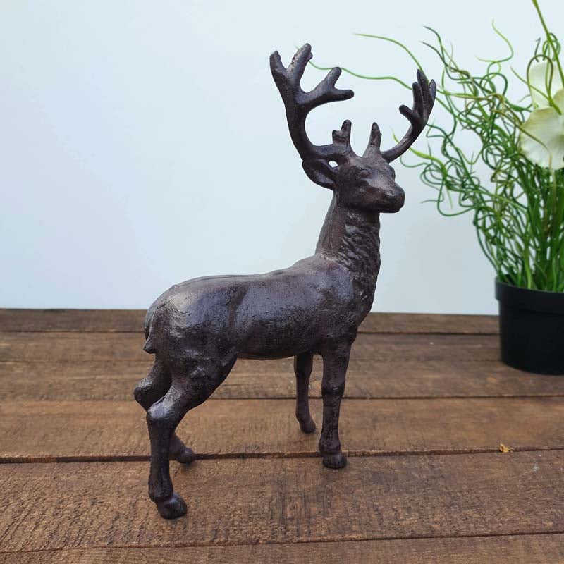 Cast Iron Stag Ornament - Simply Roka