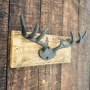 Small Stag Antler Wall Ornament / Hook - Simply Roka