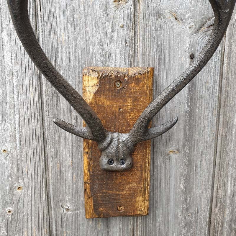 Vintage Stag Antler Wall Ornament - Simply Roka