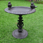 Cast Iron Bird Bath / Feeder - Simply Roka